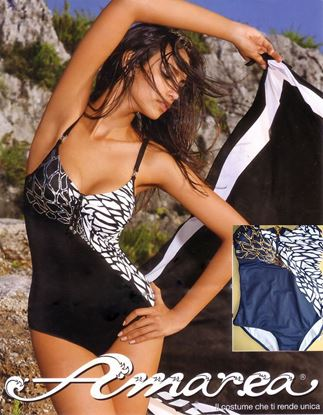 Amarea style 339 - Underwire One-piece Swimwear